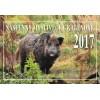 Nástěnný myslivecký kalendář 2017